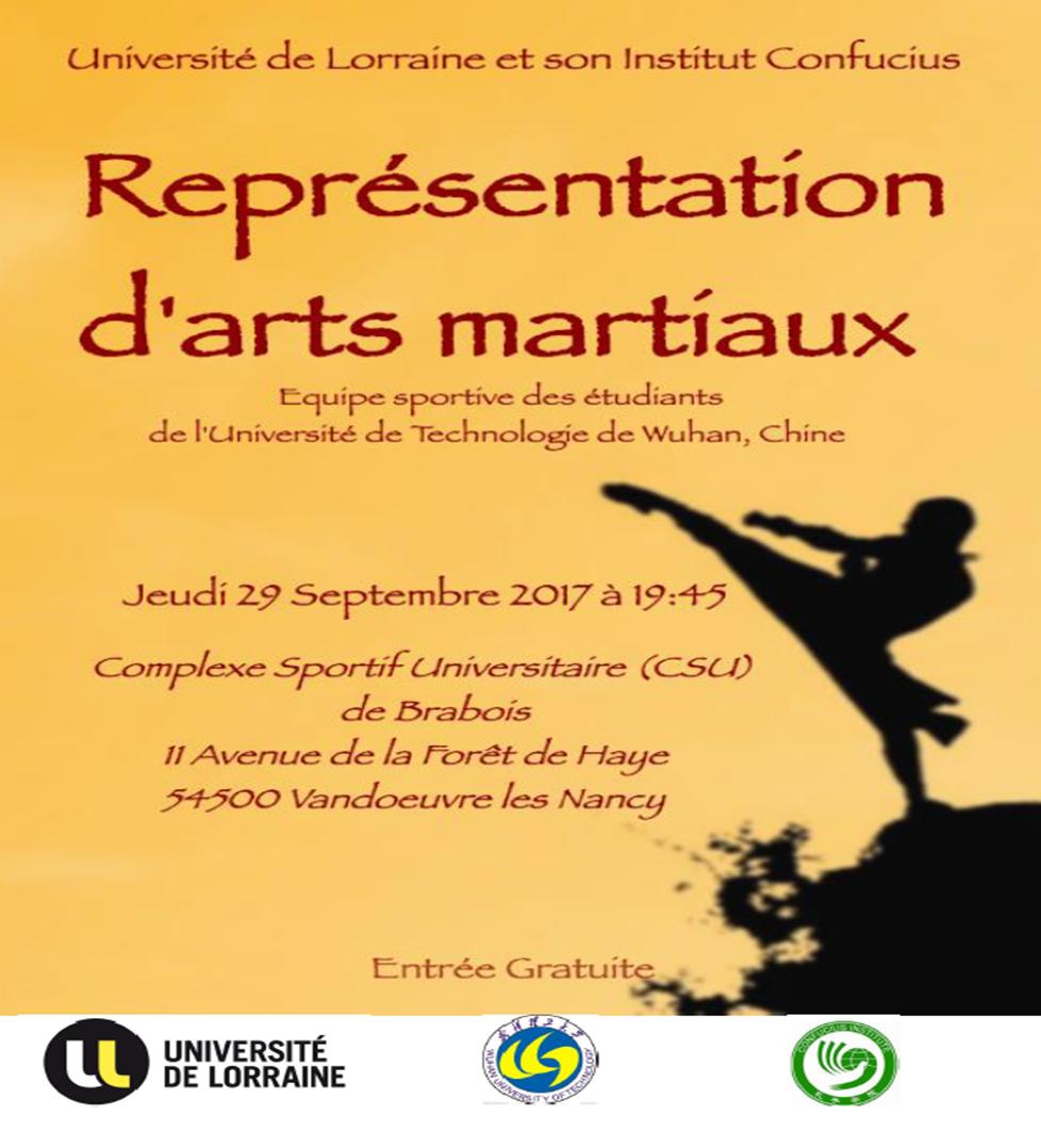 Repr sentation d 39 arts martiaux jeudi 29 septembre 2016 for Arts martiaux pdf